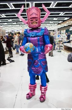 Holy wow...that's a pretty awesome Galactus!
