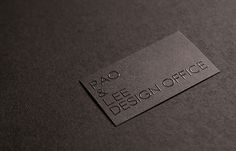 Unique Business Cards: 25 ultra sleek black business card designs.