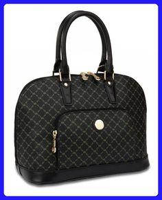 Signature Black Dome Handle Bag by Rioni Designer Handbags   Luggage - Top  handle bags ( 8545889fe9