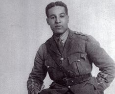BLACK SOLDIERS IN THE BRITISH ARMY | Former Spurs Player Walter Tull is the most celebrated Black British soldier who achieved the rank of Lieutenant.