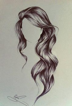 sooo realistic and i wish my hair was that long! my hair is so super short. i made the wrong decision of cutting my hair over the summer. still isn't long! How To Draw Hair, How To Draw Girls, Cute Things To Draw, How To Draw Braids, About Hair, Hair Hacks, Hair Tips, Hair Ideas, Cool Drawings