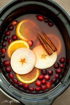 Slow-Cooker Cranberry Apple Cider
