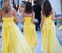 Inspiring picture bridesmaid dresses, lemon theme wedding, limone abiti da damigella. Resolution: 540x770. Find the picture to your taste!