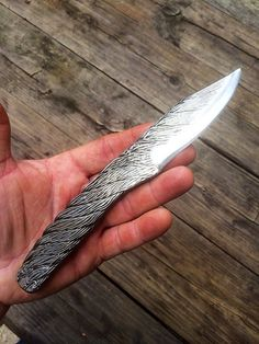 Winch Cable Knife 8 inch by CineScapeStudios on Etsy