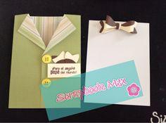 Scrapbook Mex tarjeta para el dia del padre, father´s day card