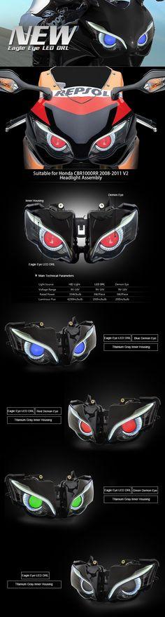 headlight assembly for honda cbr600rr 2008 2009 2010 2011