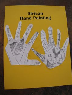 craft ideas for _Anansi the Spider by Gerald McDermott: egg carton spider, and geometric hand art (North African) SOTW Chapter 11 African Crafts, African Art, Lessons For Kids, Art Lessons, Spider Crafts, African Traditions, Painting Activities, Geometric Painting, Story Of The World