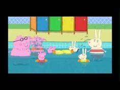 Peppa pig Swimming Pool english full episode - YouTube