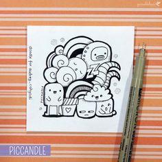 Cool doodles, simple doodles, kawaii doodles, kawaii drawings, doodle d Cute Doodle Art, Cool Doodles, Doodle Art Designs, Doodle Art Drawing, Kawaii Doodles, Simple Doodles, Doodle Sketch, Kawaii Drawings, Cute Drawings