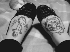 <3 the foot tattoos!