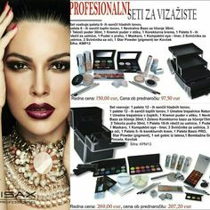 Makeup sets for professional use. Offer which you can not overlook. For orders pls write email parisax@parisax.si