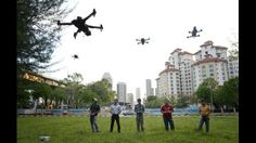 Sales of remote-controlled drones are on the rise among hobbyists in Singapore. http://www.straitstimes.com/ Photo: Mark Cheong/The Straits Times
