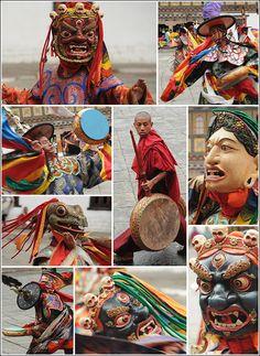 Festivals of Bhutan - Bing Images
