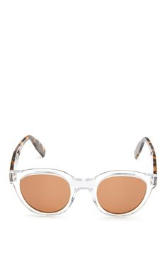 b69076f620 Sunetra D-Frame Acetate Sunglasses by Zanzan Now Available on Moda Operandi  Tortoise Shell