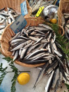 Fresh sardines are delicious sauteed in olive oil.
