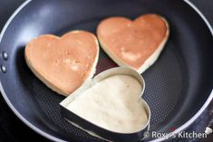 I'm going to make these for Valentine's morning breakfast for my DH and son!