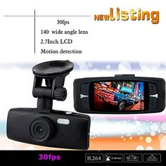 CHAMPLED Dome Full LCD Car DVR Recorder G-sensor FORD CHRYSLER CHEVY CHEVROLET DODGE CADILLAC JEEP GMC PONTIAC HUMMER LINCOLN BUICK