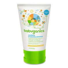 Babyganics Non-Petroleum Soothing Protective Ointment- 3.25 Ounce Tube