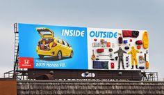 Publicidad espectacular de Honda.   Quiero más diseño