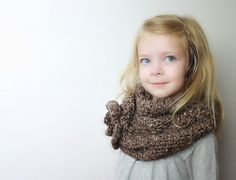 Veronica  Crochet PATTERN ONLY  Childrens Cowl by hovercreations, $7.50