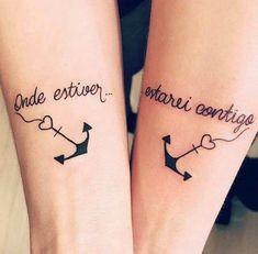 Tatuagens Mommy Tattoos, Couple Tattoos, Life Tattoos, Body Art Tattoos, Trendy Tattoos, Unique Tattoos, Tattoos For Women, Tatoo Rose, Makeup Tattoos