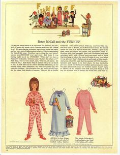 October 1965--Betsy McCall paper doll