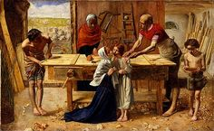 Christ on the House of His Parents. Sir John Everett Millais, Baronet, PRA June 1829 – 13 August was an English painter and illustrator who was one of the founders of the Pre-Raphaelite Brotherhood. Dante Gabriel Rossetti, Southampton, John Everett Millais, Pre Raphaelite Paintings, Thomas Gainsborough, William Hogarth, Pre Raphaelite Brotherhood, Google Art Project, Tate Gallery