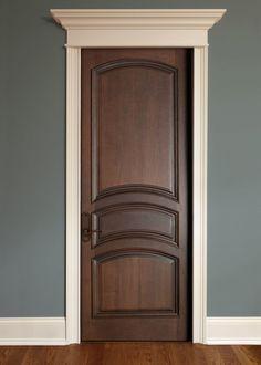 Межкомнатные двери из массива дерева   Colors.life