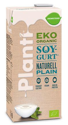 Planti Soygurt Luomu Maustamaton  Planti.fi