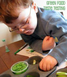 Green Food Taste Testing 1