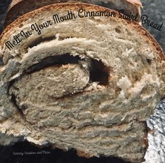 Melt In Your Mouth Cinnamon Swirl Bread — Culinary creations and Homemade French Bread, Cinnamon Swirl Bread, Make French Toast, Sweet Dough, Honey Butter, Melt In Your Mouth, Perfect Breakfast, How To Make Bread, Sweet Bread