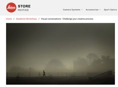 Eileen McCarney Muldoon & I are delighted to announce that we're bringing our 'Visual Conversations' workshop to London! It's a 3 day Akademie class, Aug 23 - 25th at The Leica Studio, Mayfair. Expect to be jolted! Explore your creative horizons. Please check out the details here: http://ow.ly/YZfUn Complimentary use of Leica kit.