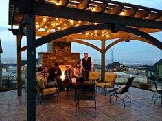 fireplace-pergola-family #pergolafireplace