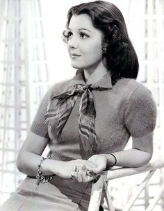 Ann Rutherford - cute outfit. #vintage #actresses