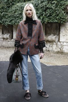 FLARE Milan Fashion Week AW'14 Street Style / Photo by Anthea Simms