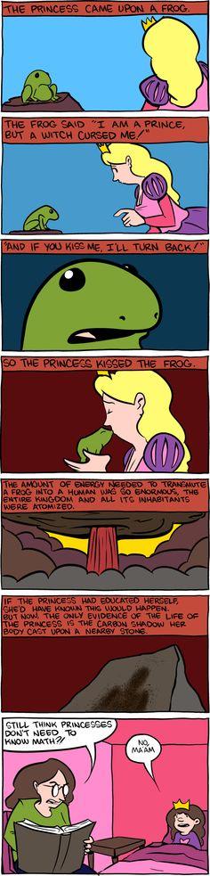 Princesses + Math