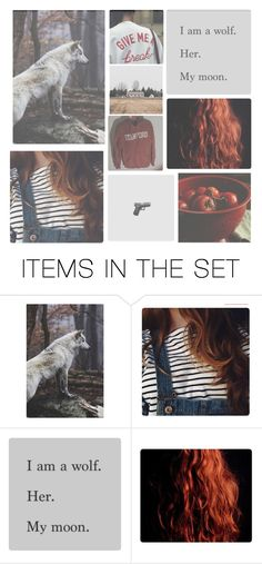 """""""&&. scarlet benoit"""" by rxindrops-on-roses ❤ liked on Polyvore featuring art, book, wolf, scarlet and tlc"""