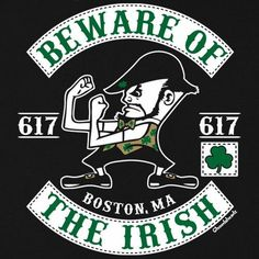 Beware Of The Irish T-Shirt is an instant classic. Everyone loves the Irish but at the same time knows that they can be a little nutty!