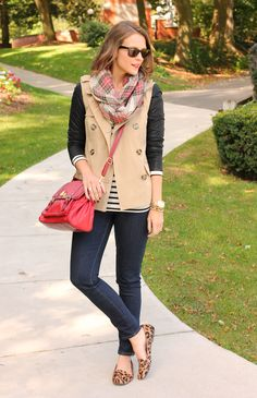 Cute casual look.