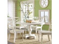 "Shop for Riverside 42"" Round Dining Table-base, 16754, and other Dining Room Dining Tables at Furniture Plus Inc. in Mesa, AZ.."