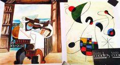 Copie di quadri di Picasso e Kandinsky disponibili nel negozio online Tuttiquadri.it
