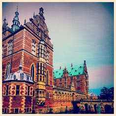 fabioruivo #lovely #renaissance #palace #slot #frederiksborg #slotsøen #hillerød #denmark #danmark