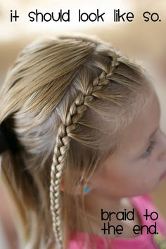 Great site for little girl hairstyle tutorials. Hair Today