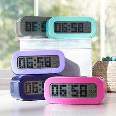 Rise And Shine Alarm Clock #potterybarnteen