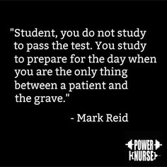 Truth! If you focus and assimilate the information as you survive nursing school you'll pass. I didn't study for the boards because I knew if I didn't know it I would never know it. Cramming does your patients no good. I passed the first time.