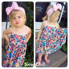 """""""ella"""" brynlee style dress by Sew Chill"""
