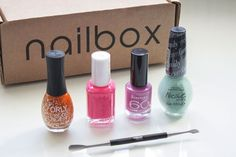 nailbox is a brand new, monthly nail subscription box full of the hottest nail polish and essential nail tools.