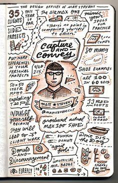 Matt Stevens - Capture & Convey - from Circles Conference, via the Creative Market Blog #circles2013