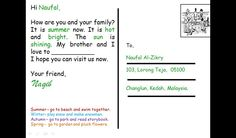 postcards examples doing of kids - Buscar con Google