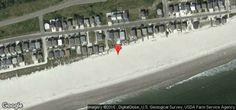 map of 405E1 - Oceanfront House - Ocean Isle Beach, NC 28469
